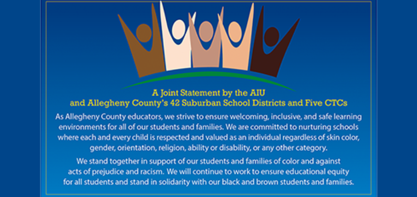 A Joint Statement from Superintendents in Allegheny County