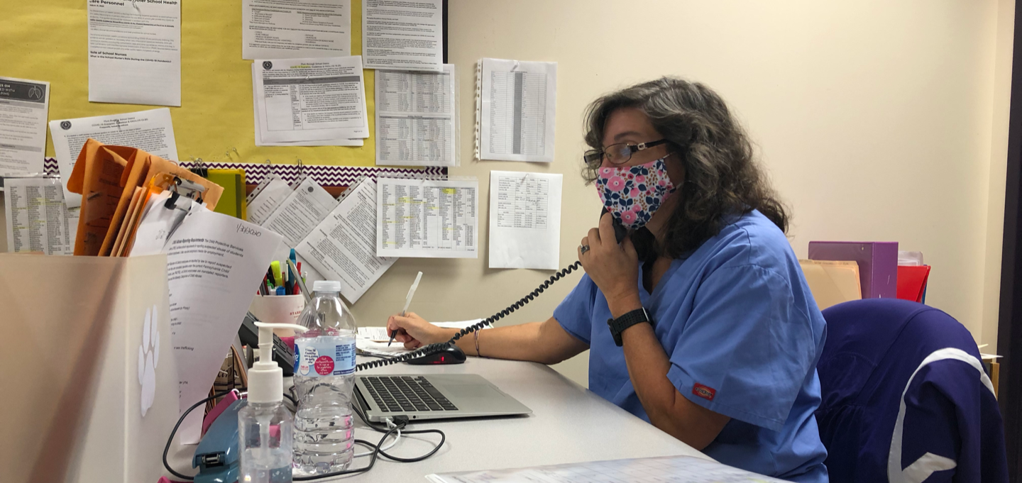 Nursing Services Working Non-stop to Keep Us Safe