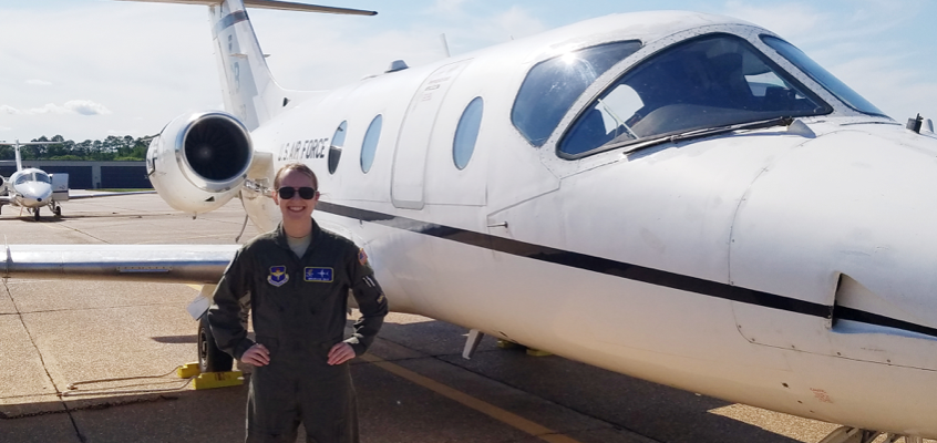 LT. Mikaela Galu is one of the newest pilots in the U.S. Air Force!