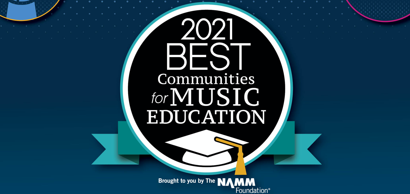 PBSD Recognized for Music Education for Second Year