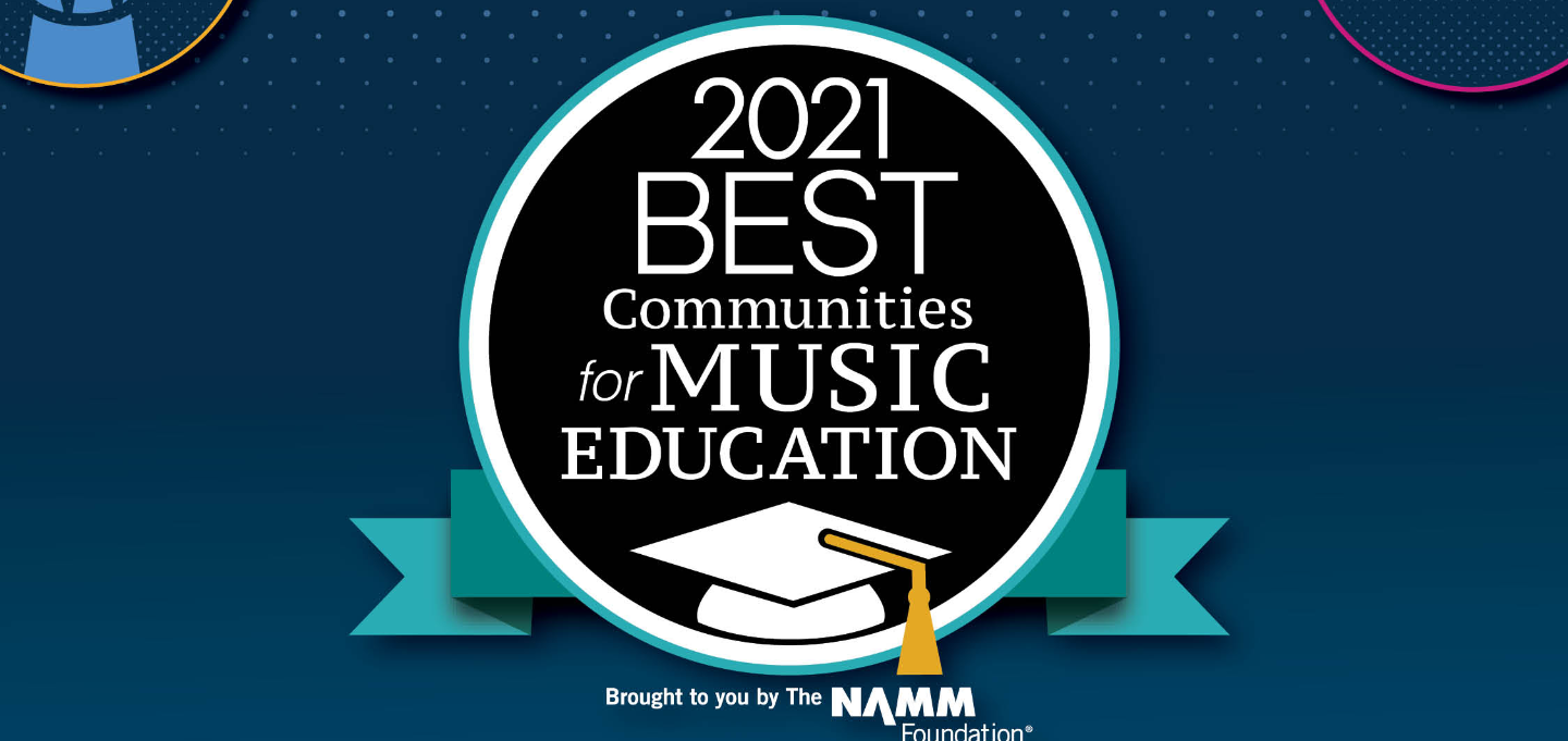 """For the second consecutive year, Plum Borough School District has been named to the list of """"Best Communities for Music Education,"""" a prestigious designation from the National Association of Music Merchants (NAMM) Foundation.   The NAMM Foundation recogni"""