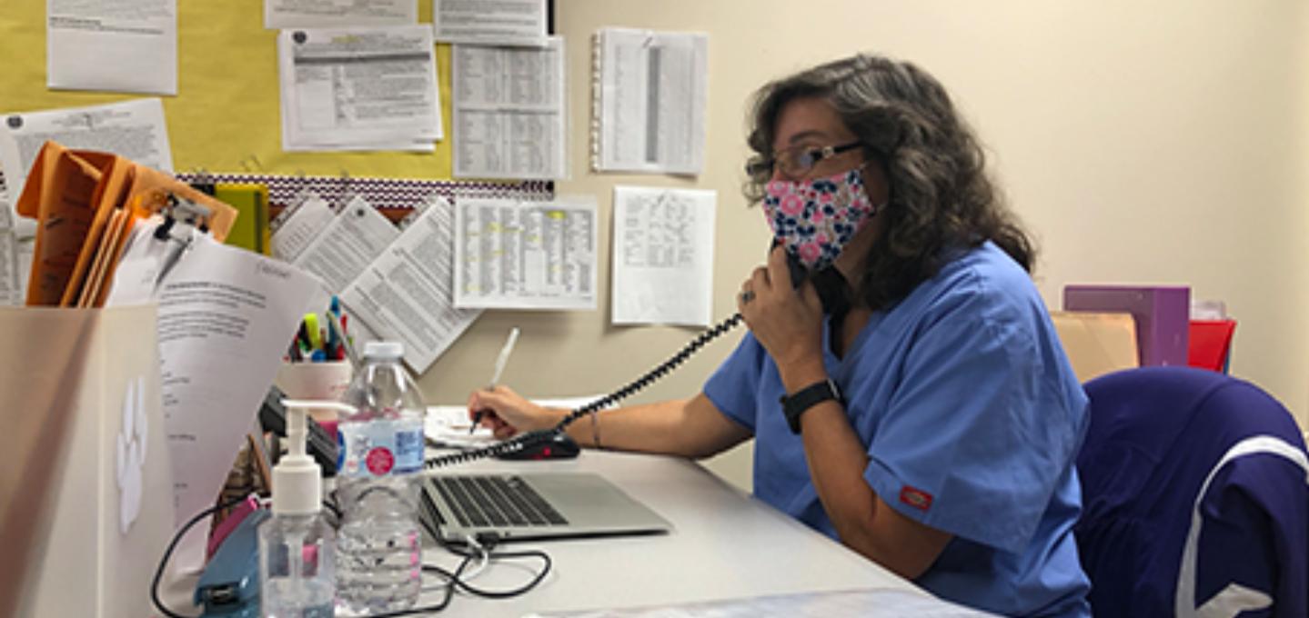 Plum Borough School District nurses help keep students safe.