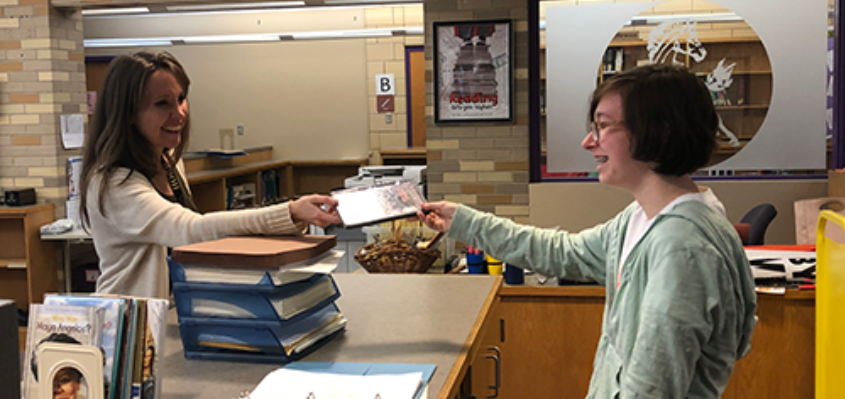 Plum Librarian Nominated for Leadership Academy