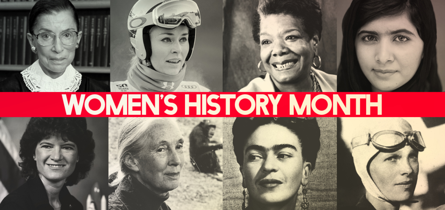 March is Women's History Month and it's a time when we recognize women from various backgrounds and life experiences and celebrate their contribution to our society. This month marks a time to reflect on and examine the 19th amendment and the conditions t