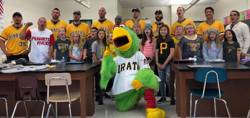 Pittsburgh Pirates Visit Center Elementary