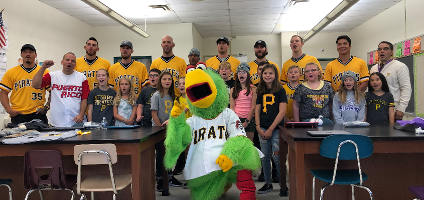 Pittsburgh Pirates at Center Elementary