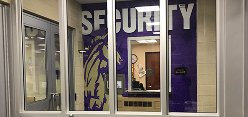 Plum Borough School District Security Vestibule