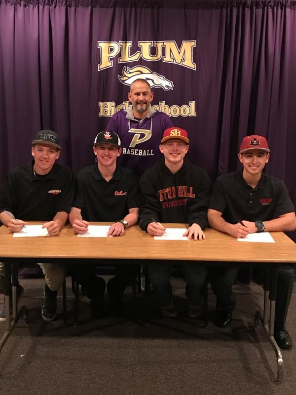 2017 Baseball National Letter of Intent Signings
