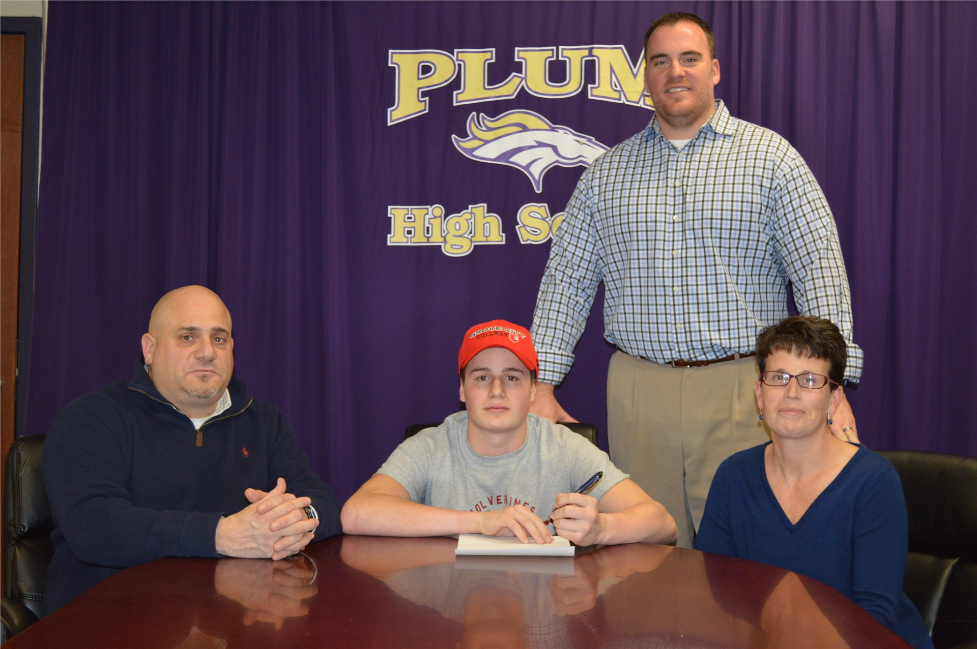 Dante Bernardi committed to play football at Grove City
