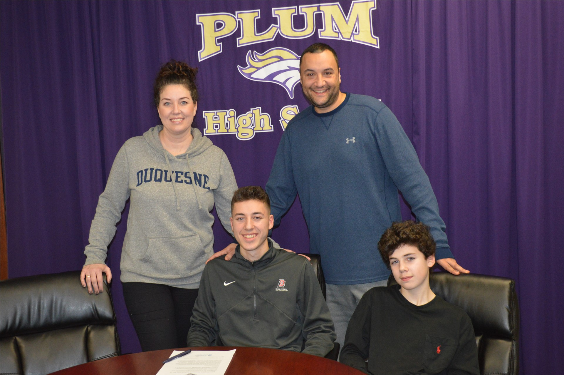 Brenden Akut commited to play soccer at Duquesne