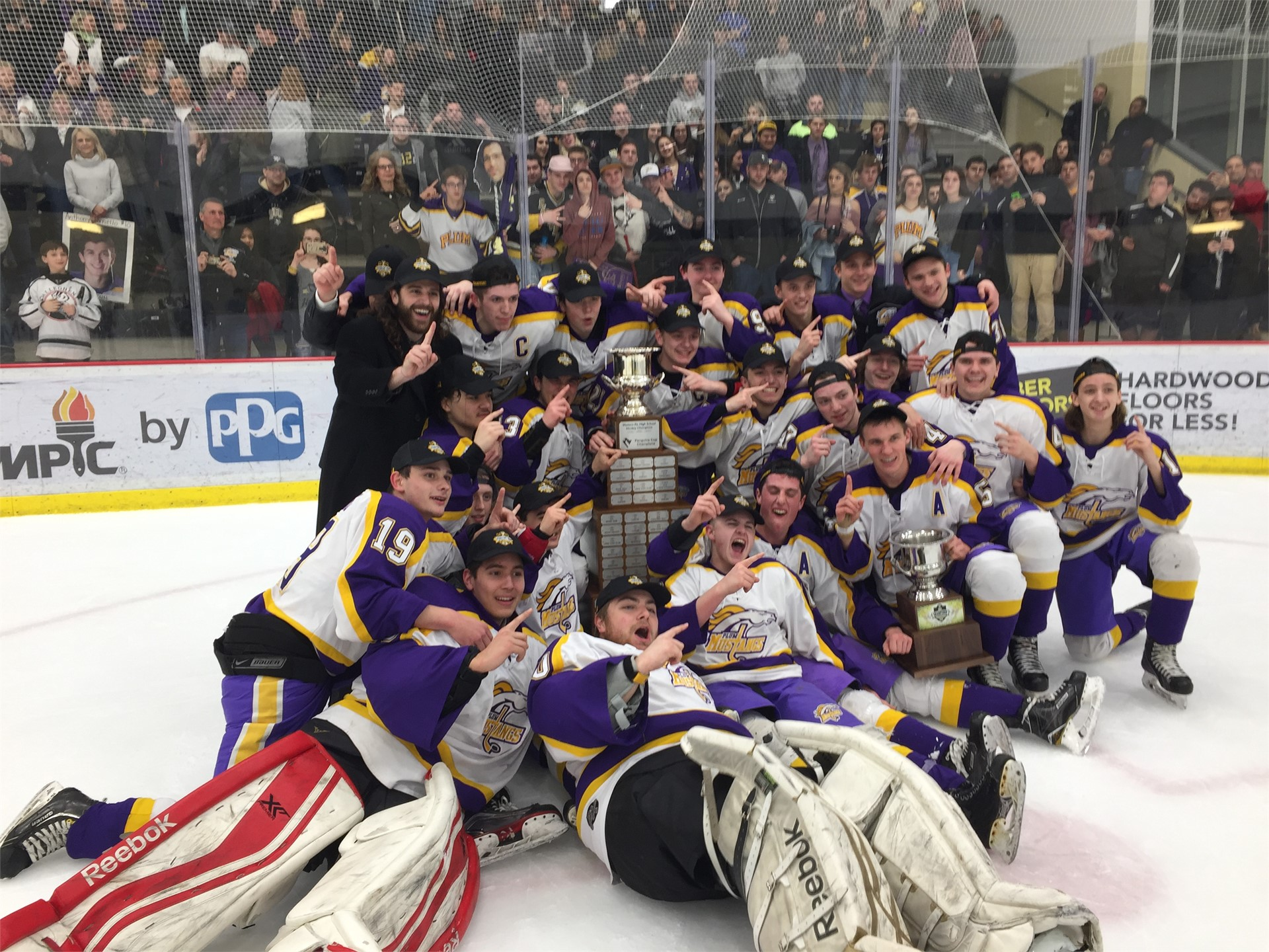 Plum Ice Hockey Wins PIHL Championship