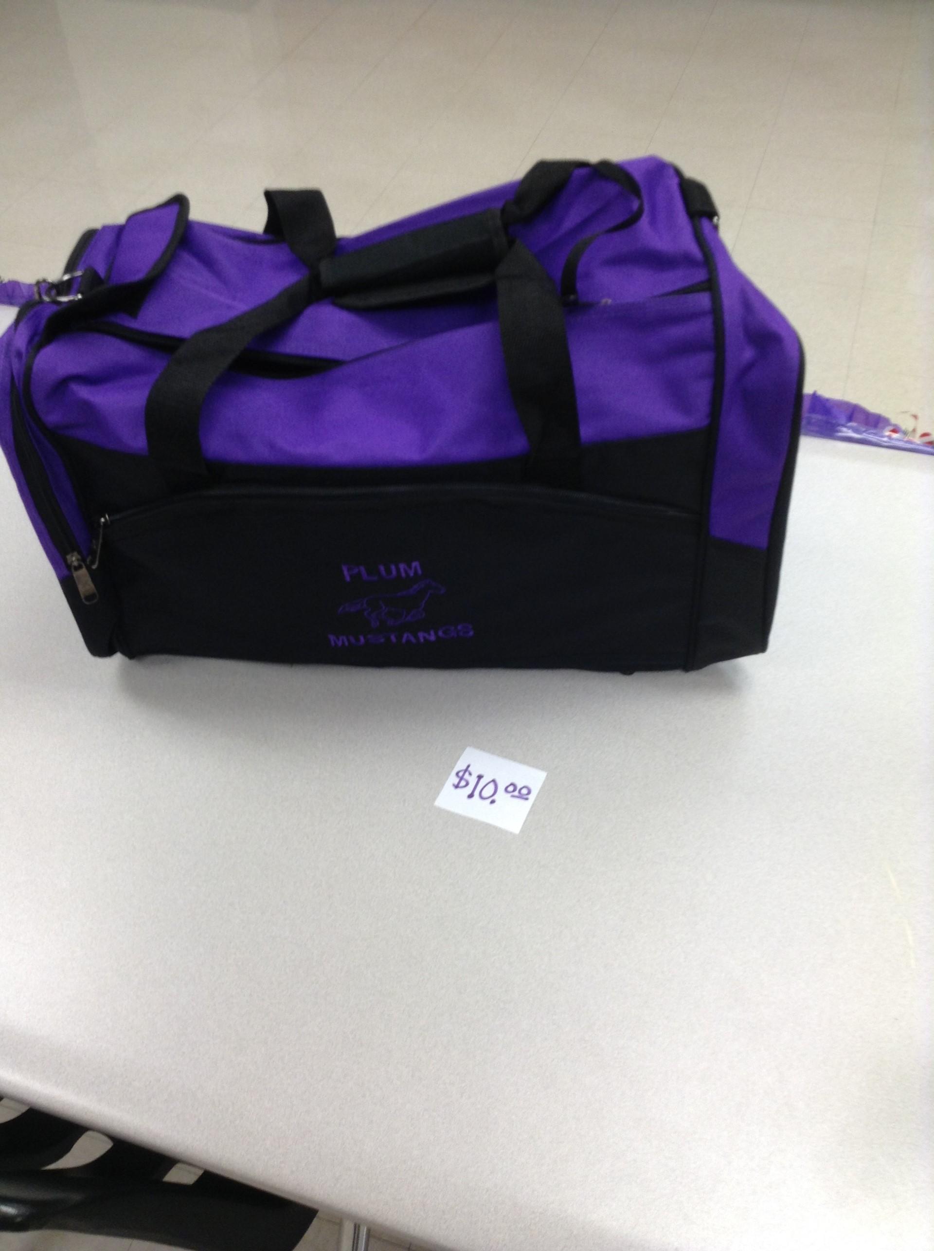 Plum Duffle Bag