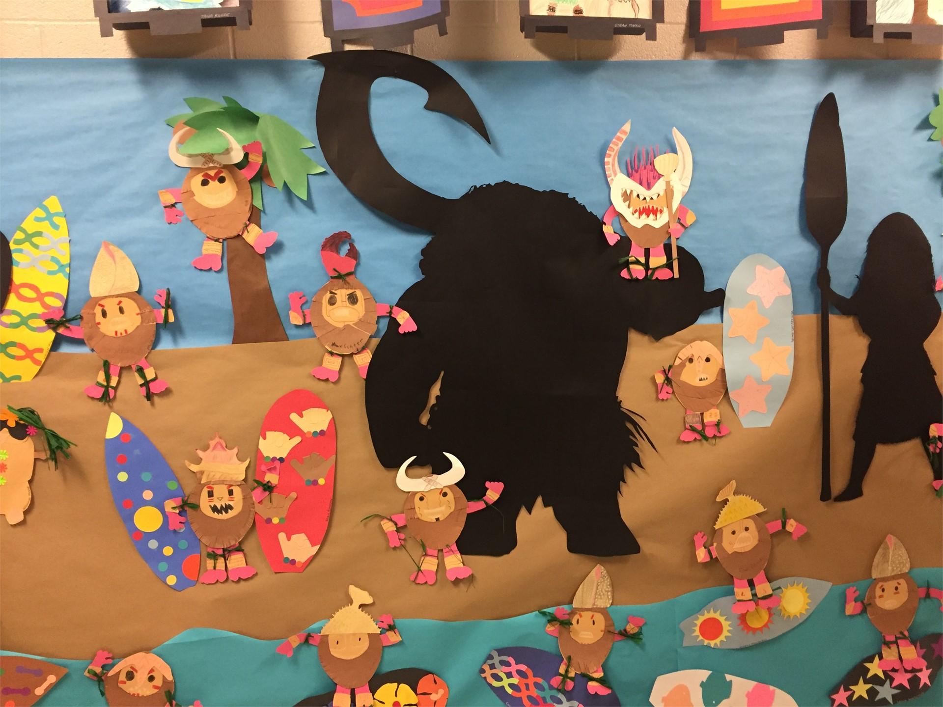 Pivik hallway - Art show