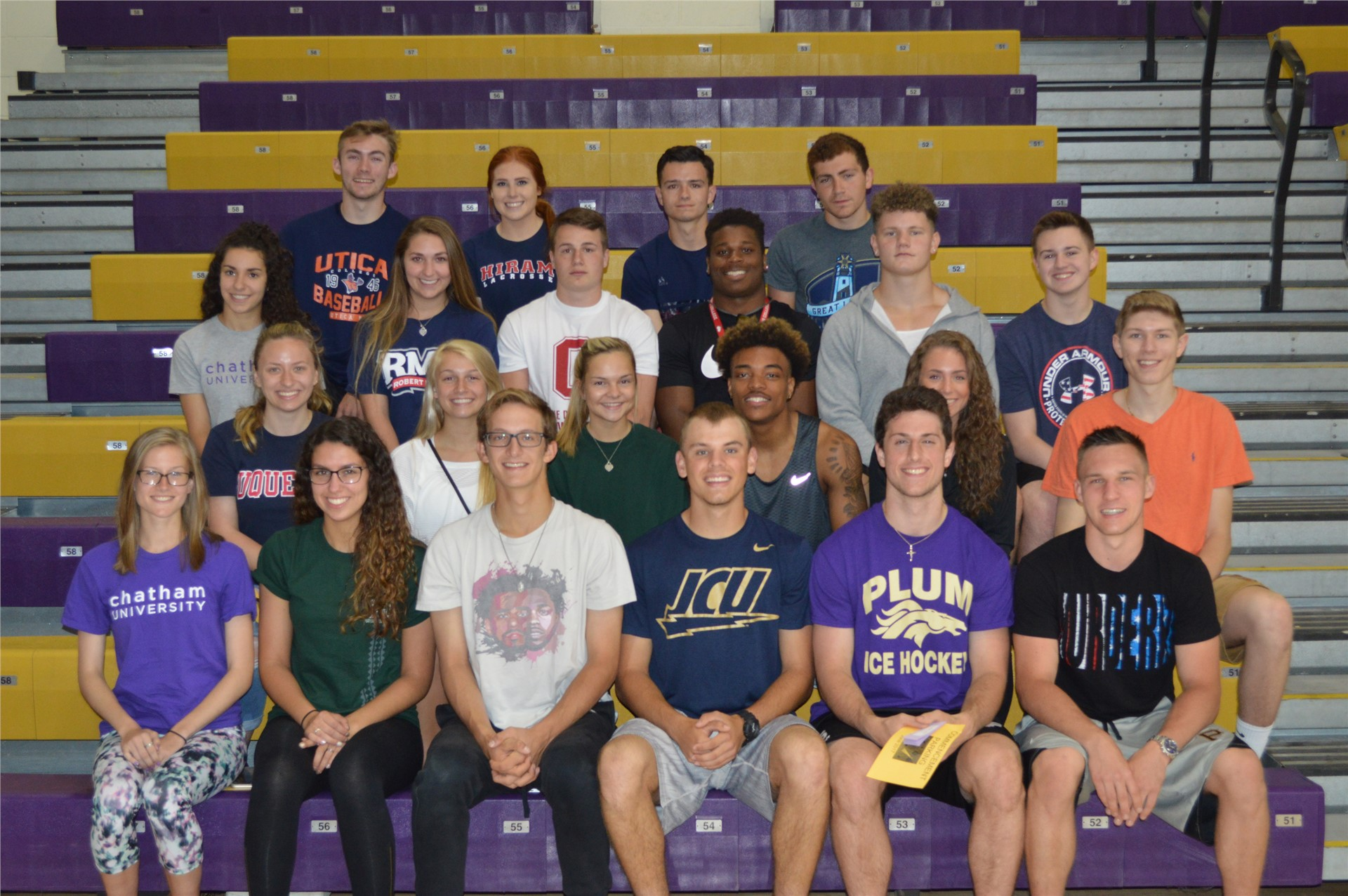 Plum Seniors to Continue Athletic Career at Collegiate level