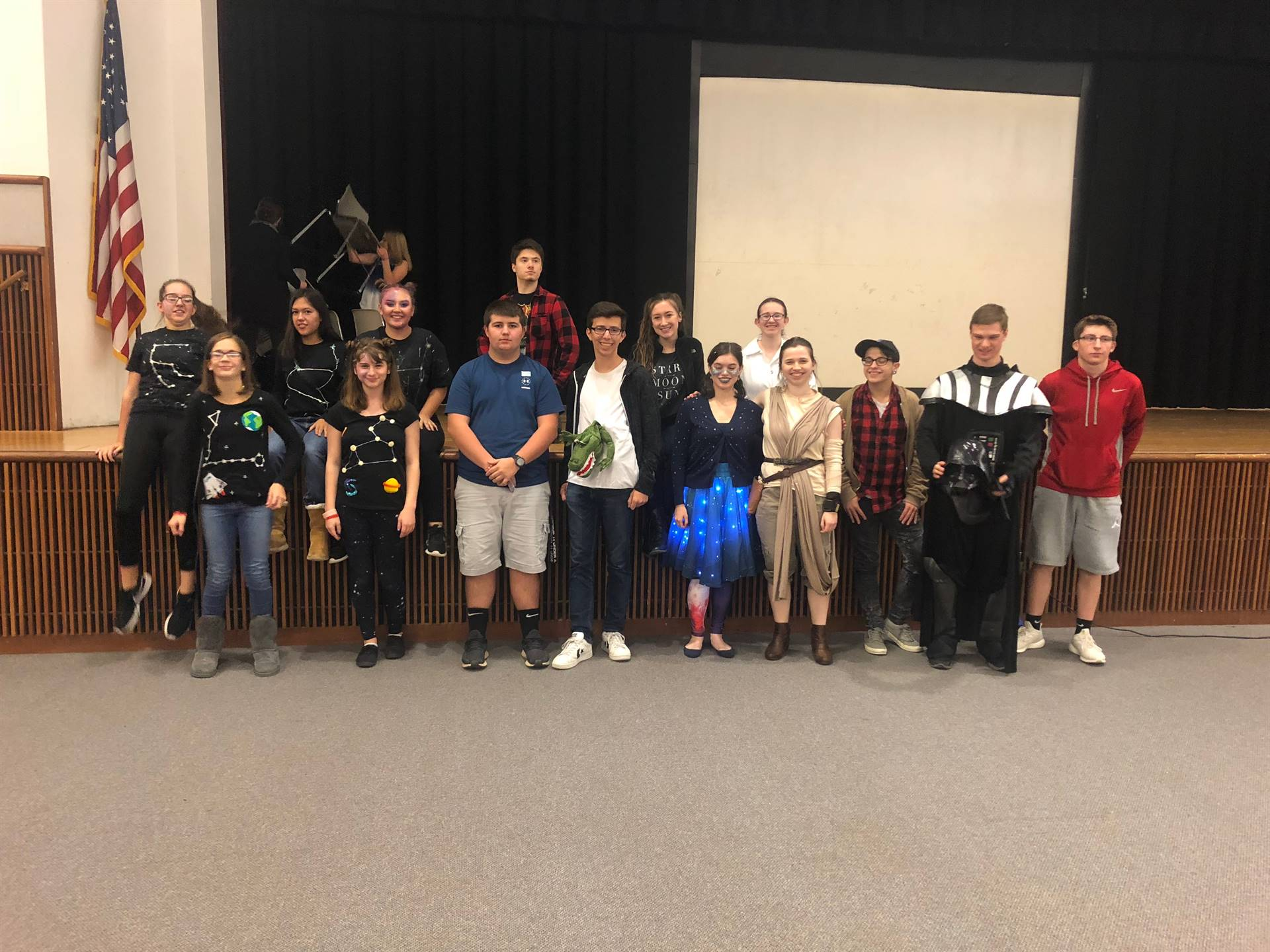 PHS students Outer Space Costumes