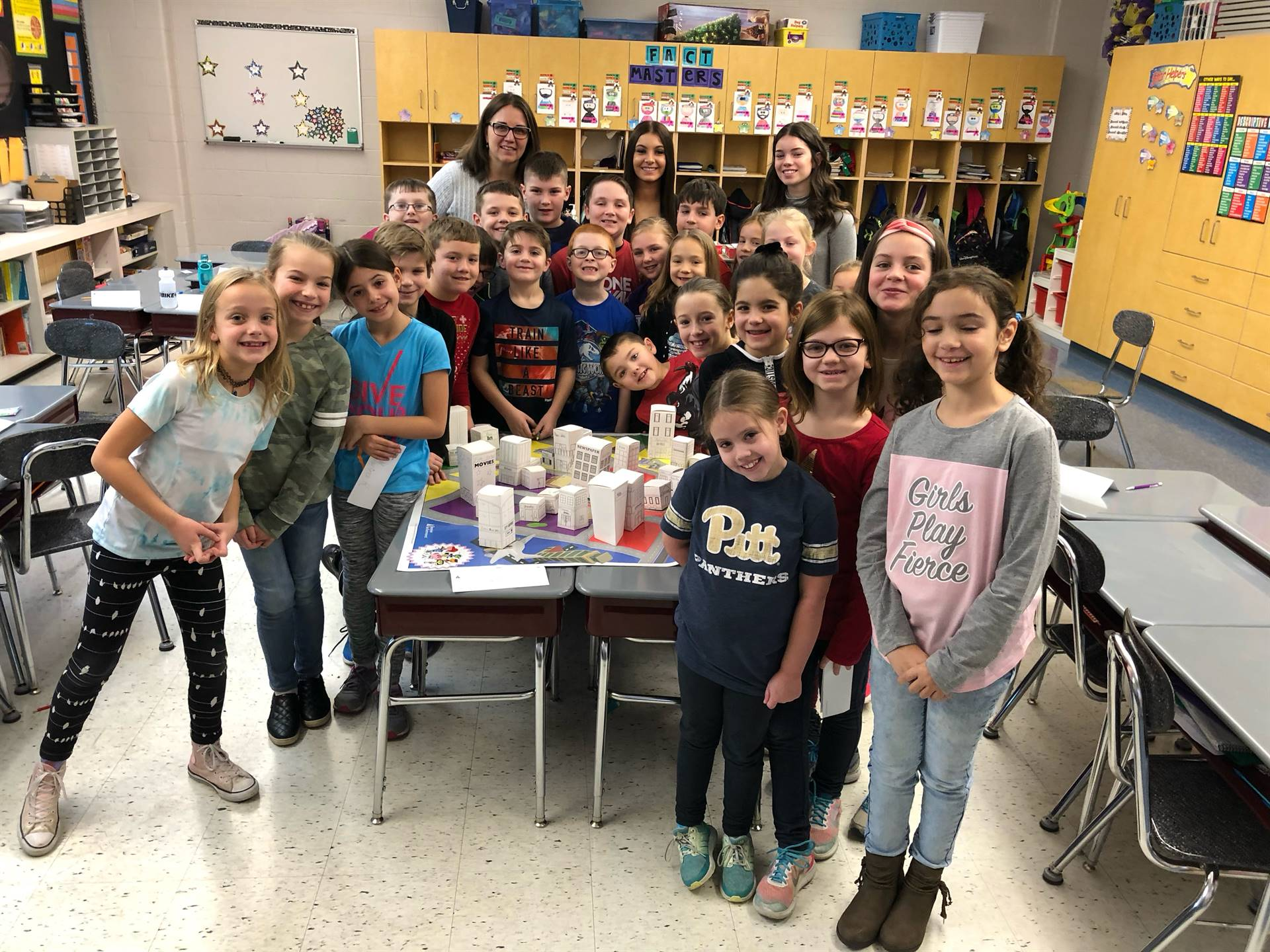 Junior Achievement Day at Pivik 2018