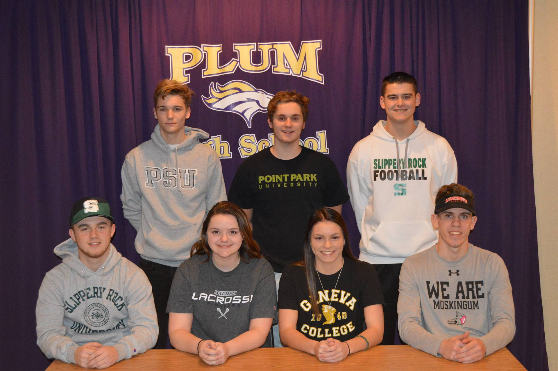 National Letter of Intent Day signing