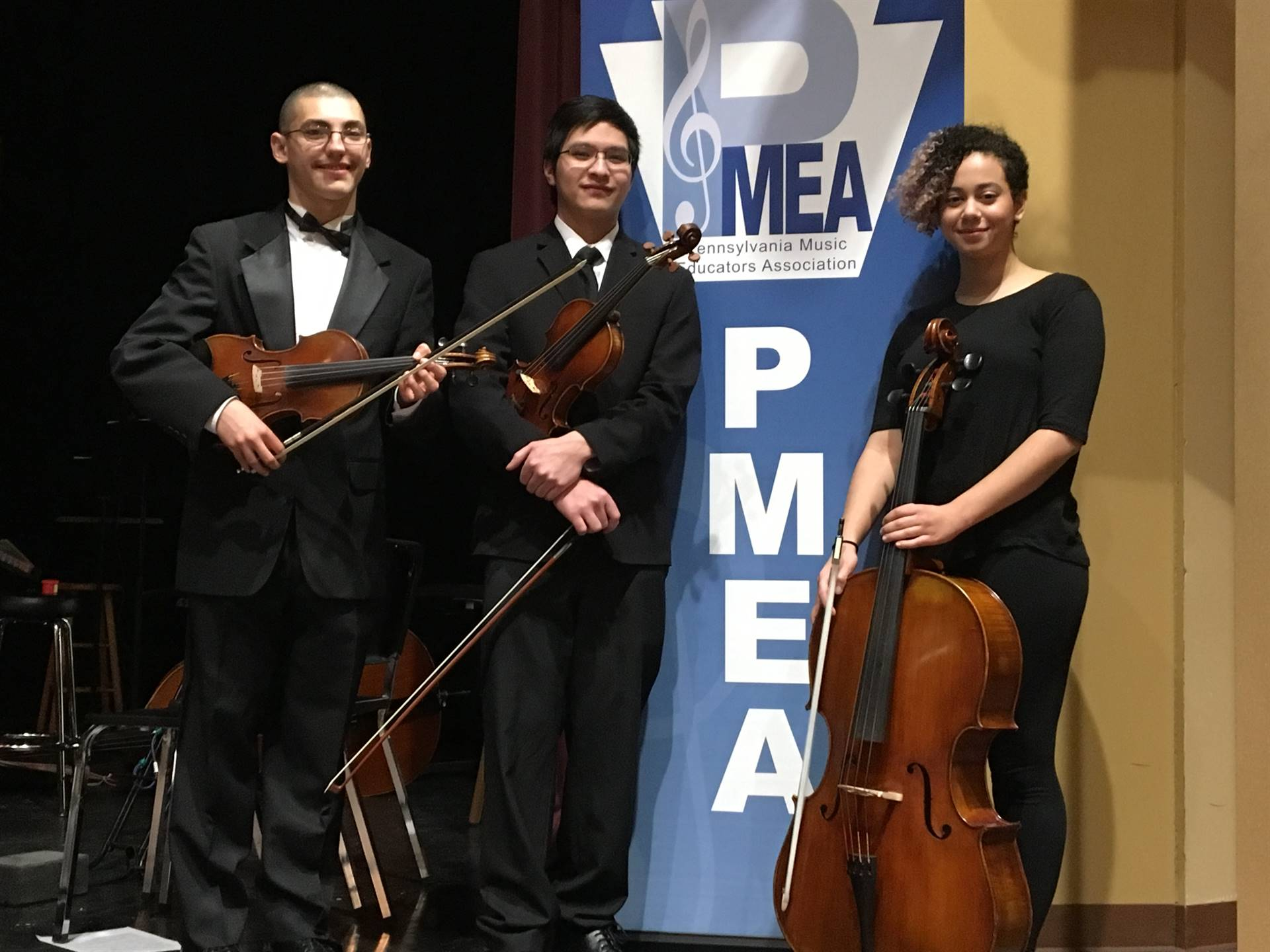 PMEA District 1 Orchestra students