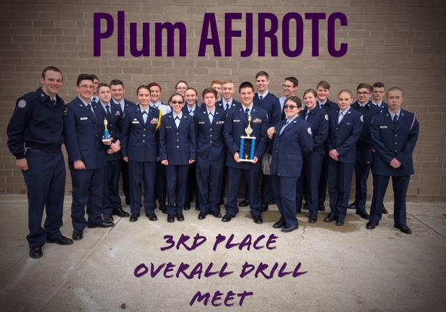 ROTC Drill meet members