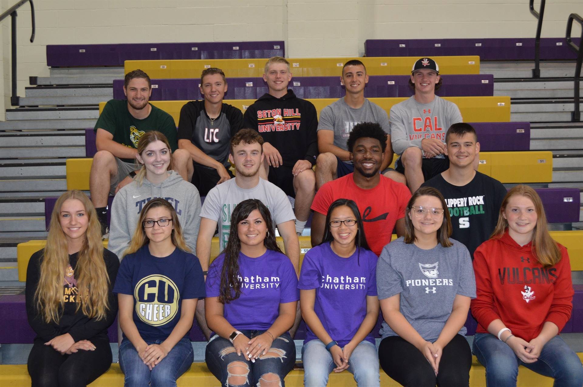 24 seniors will continue their athletic career at the collegiate level in the fall