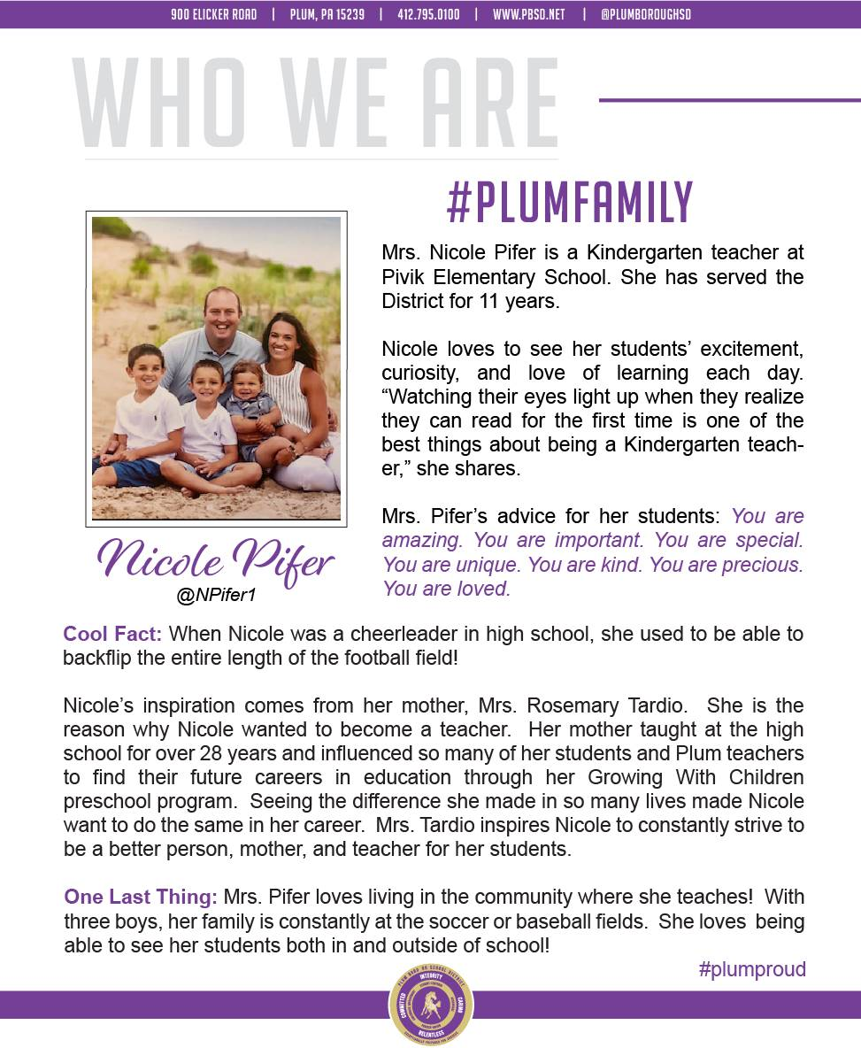 Who We Are Wednesday features Nicole Pifer.