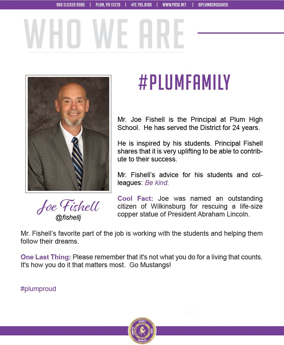 Who We Are Wednesday features Joe Fishell.