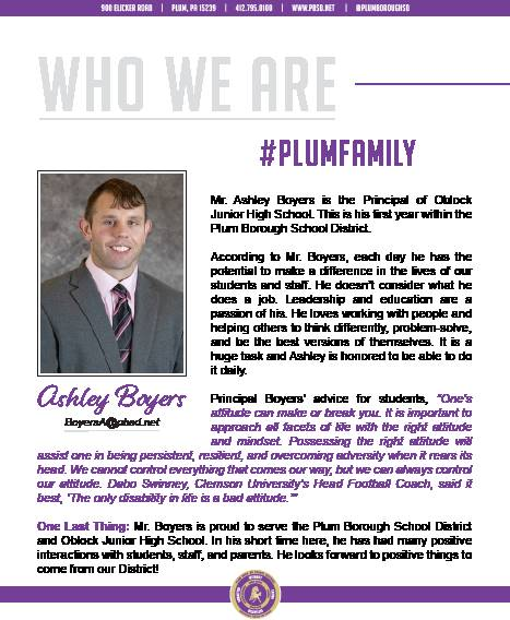 Who We Are Wednesday features Ashley Boyers.