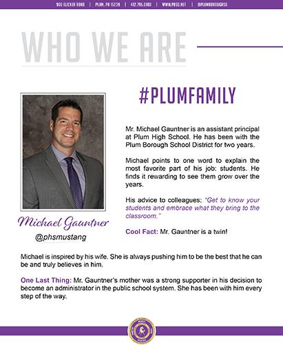 Who We Are Wednesday features Michael Gauntner.