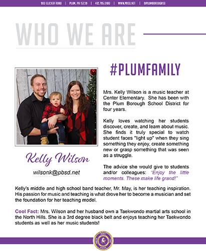 Who We Are Wednesday features Kelly Wilson.