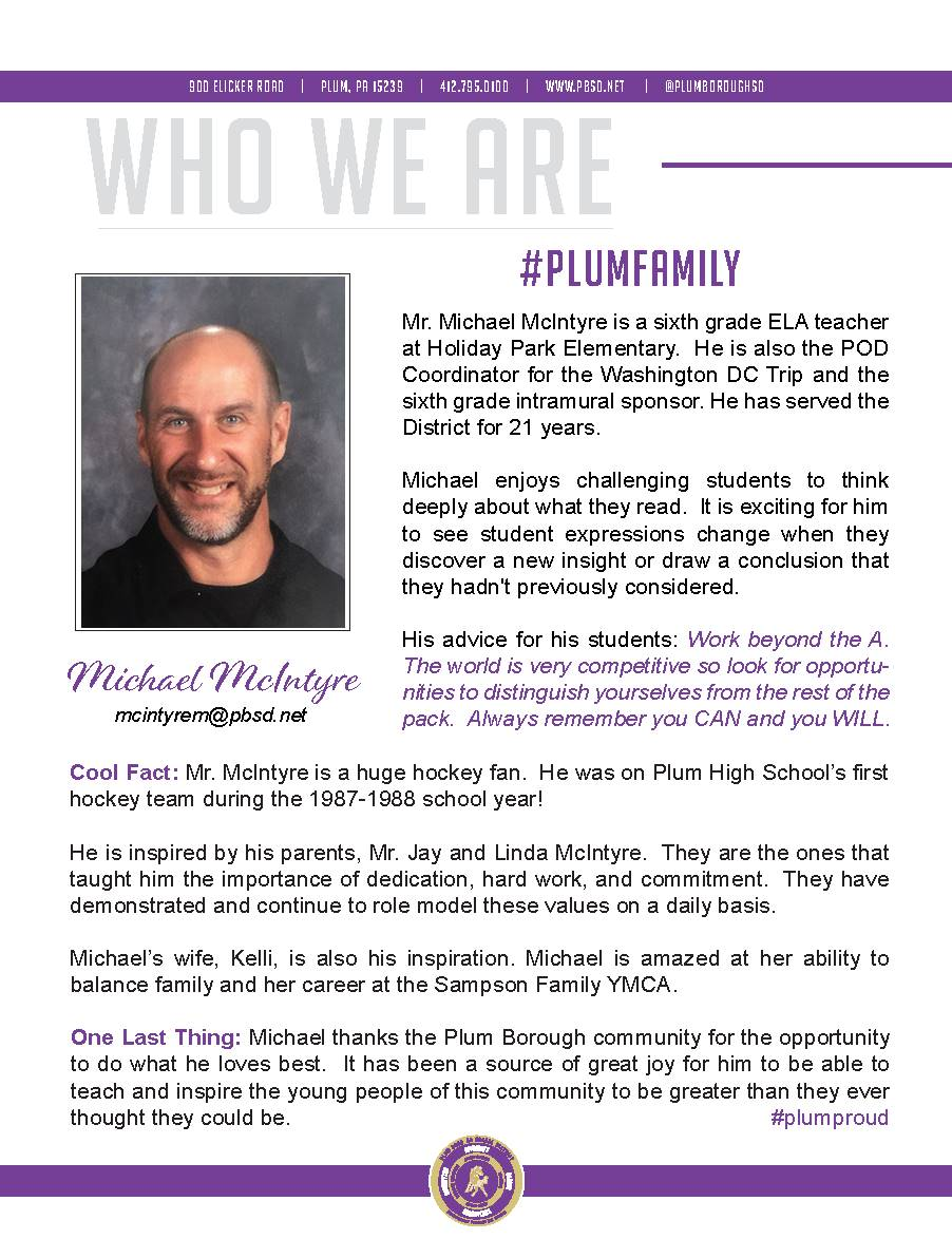 Who We Are Wednesday features Michael McIntyre.