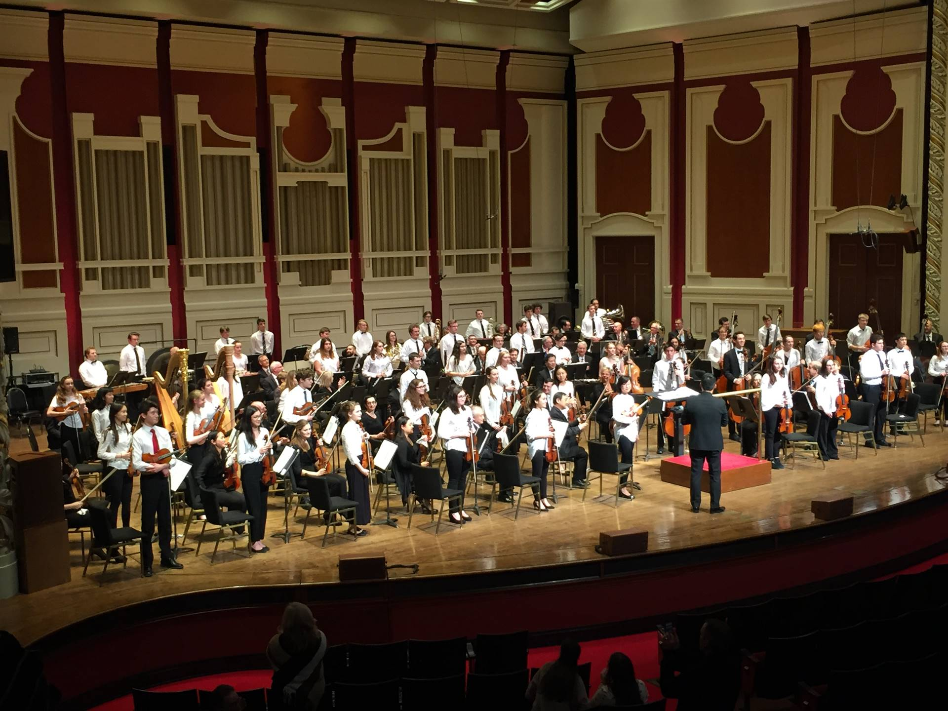 Side-by-Side program with the Pittsburgh Symphony Orchestra