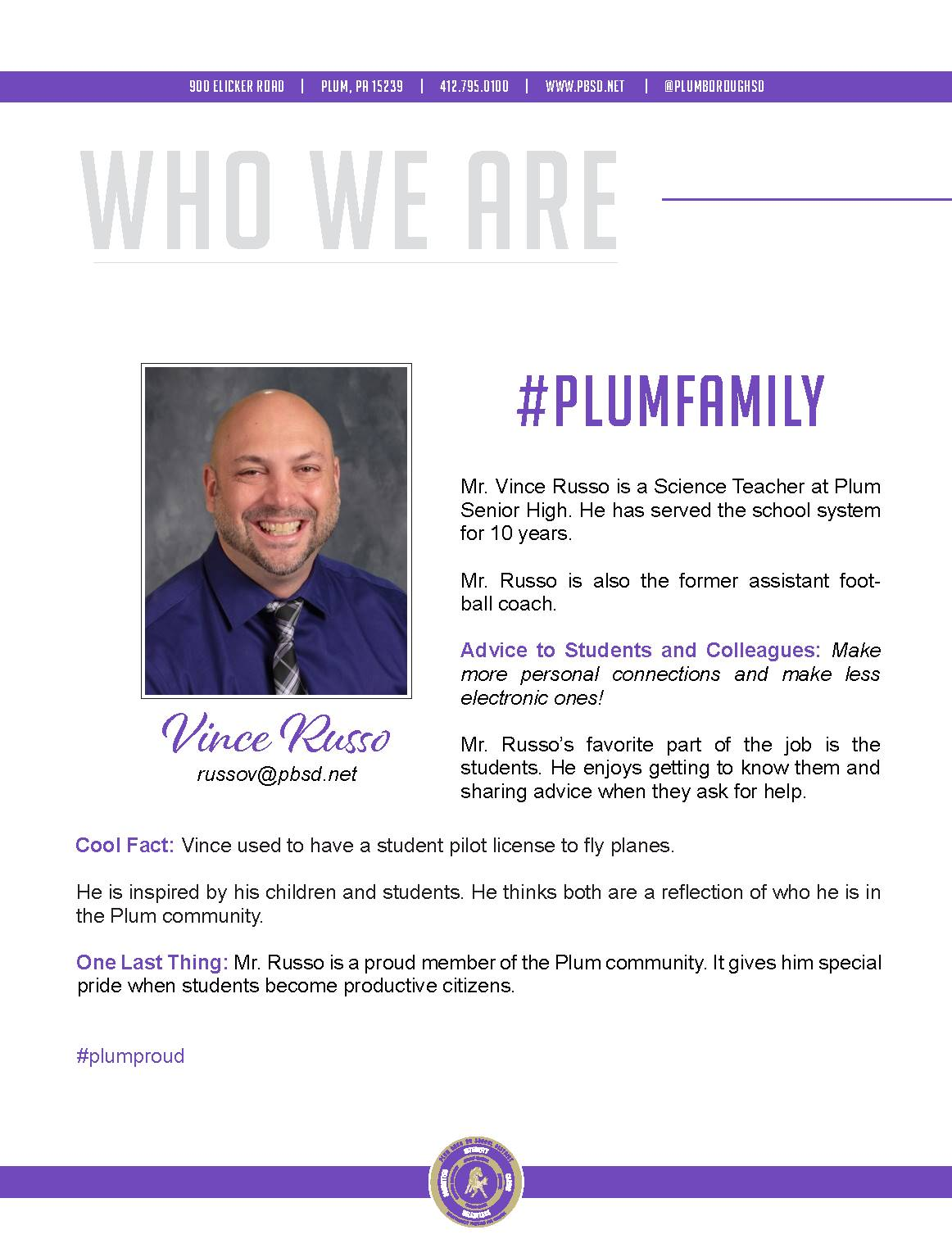 Who We Are Wednesday features Vince Russo.