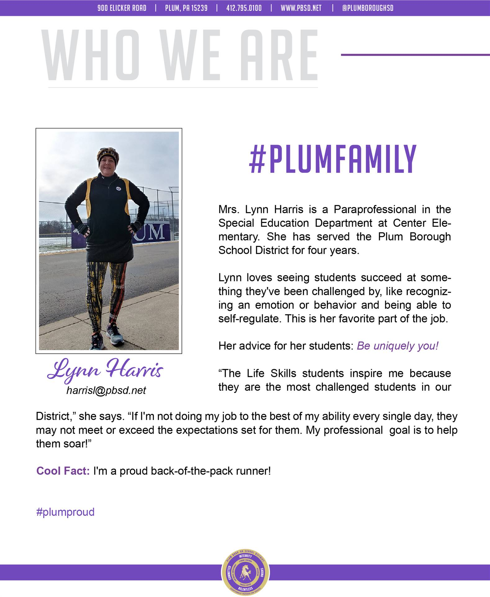 Who We Are Wednesday features Lynn Harris.