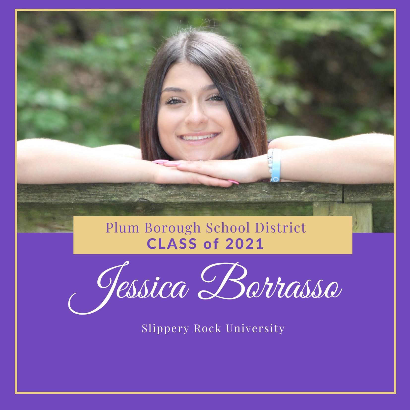 Congratulations to Jessica Borrasso, Class of 2021!