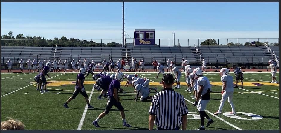 Plum Senior High School football