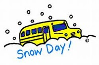 Clipart image Snow Day